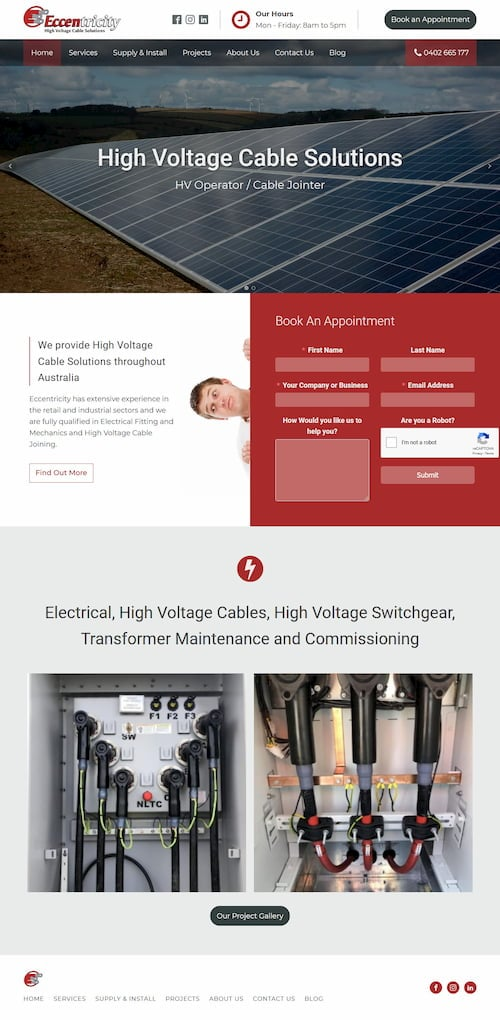 Eccentricity - High Voltage Cable Solutions Desktop-500
