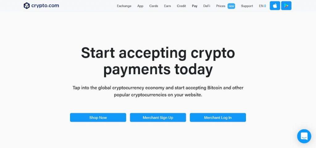Cryptodotcom payments WordPress